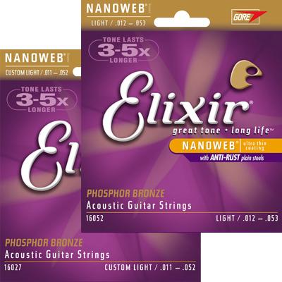 elixir PB - Elixir Nanoweb Phosphor Bronze Acoustic