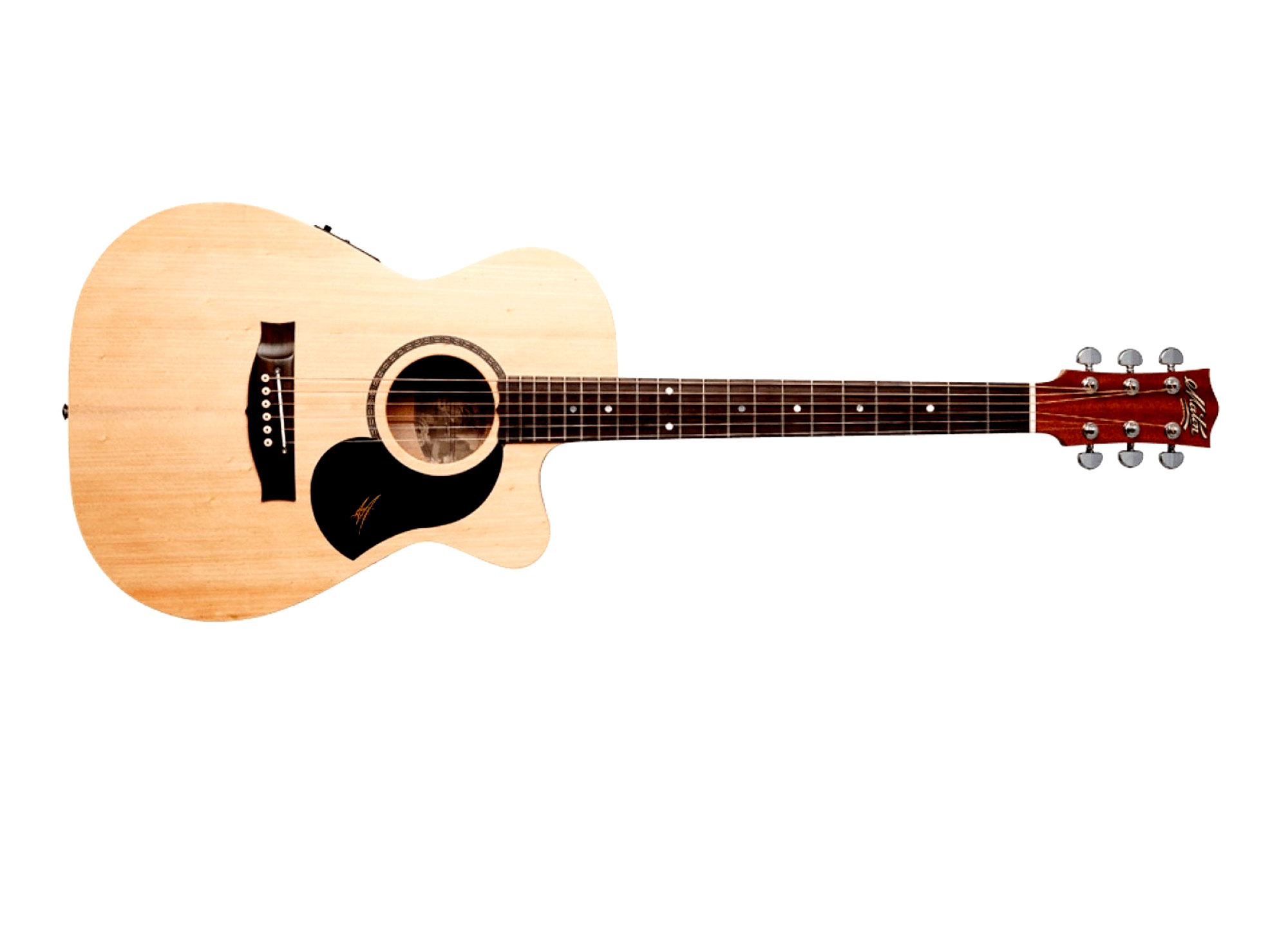 af388da86e maton 1 700x505 - Maton Bunya Performer Acoustic Electric Guitar with  Deluxe Hard Case