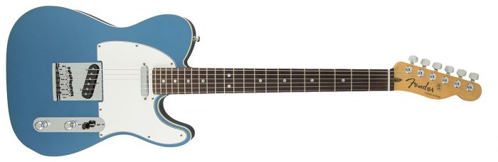 Fender American Standard Telecaster Blue 700x229 - Fender American Standard Telecaster Lake Placid Blue