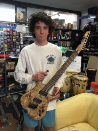 Rohan - Rohan builds guitar for his HSC
