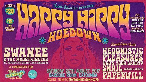 sendbinaryevents - Happy Hippy Hoedown