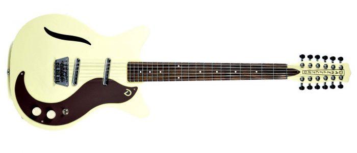 Danelectro 12 String Electric Guitar Vintage White2 700x301 - Danelectro 12-String Electric in a Vintage White finish