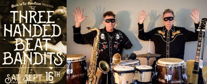 threehandedbeatbanditsbanner 669x272 - The Three Handed Beat Bandits: Saturday Night Jazz