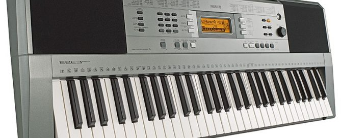 sintezator yamaha psr e353 bok 669x272 - Our last PSR - E353 Discounted!
