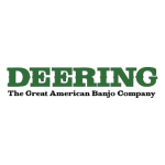 """deering 150x150 - Deering Goodtime Americana 12"""" Pot Openback Banjo"""