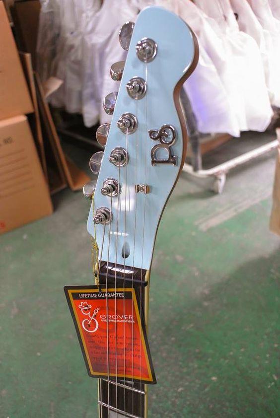 elevation crow black frnt jv puresalem 6 - PureSalem Cardinal Electric Guitar Daphne Blue Finish