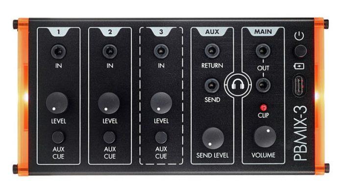 12190427 800 700x383 - Patchblocks Portable 3-Channel Mixer PBMIX3