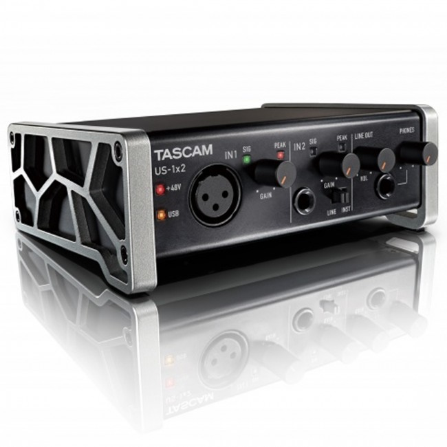tascam us 1x2 audio interface1 - Tascam US-1X2 USB Audio Interface 1-In/2-Out