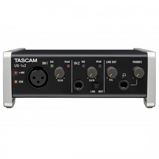 tascam us 1x2 audio interface3 - Tascam US-1X2 USB Audio Interface 1-In/2-Out