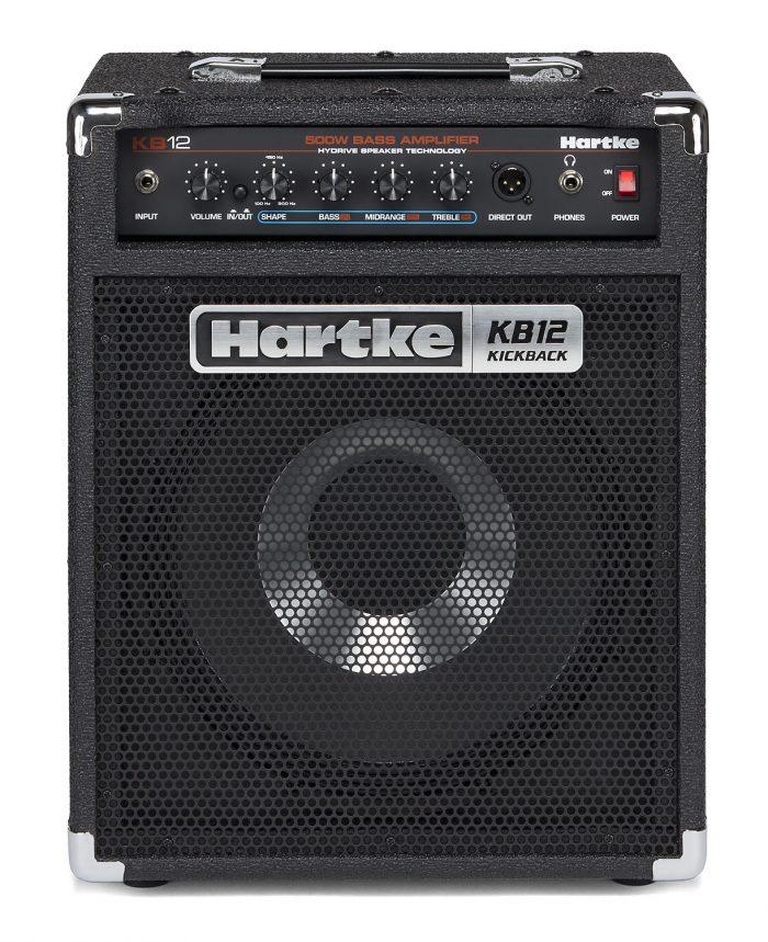 Hartke KB12 HO Updated 700x859 - Hartke KB12 500 Watt 1×12″ Hybrid Bass Combo
