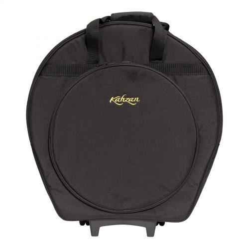 KZ CBAG5 BLK 1 500x500 - Kahzan Deluxe Cymbal Trolley Bag (Black)