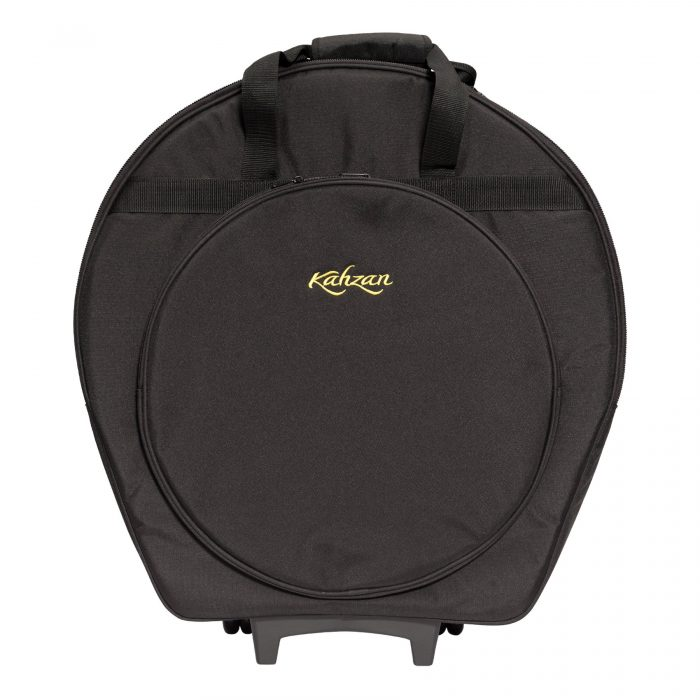 KZ CBAG5 BLK 1 700x700 - Kahzan Deluxe Cymbal Trolley Bag (Black)
