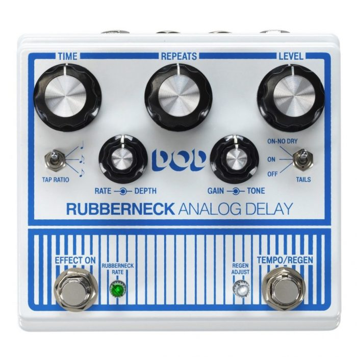 Rubberneck Delay 1024x1024 700x700 - DOD Rubberneck Analog Delay Pedal