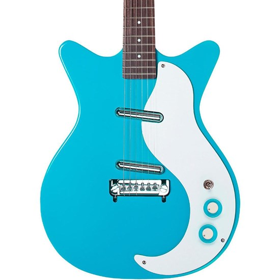 DAN DK59MNOSBB 2 - Danelectro 59 Modified NOS Electric Guitar (Baby Blue)