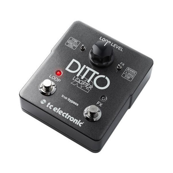 tc ditto x2 1 - TC Electronic Ditto X2 Stereo Looper Pedal