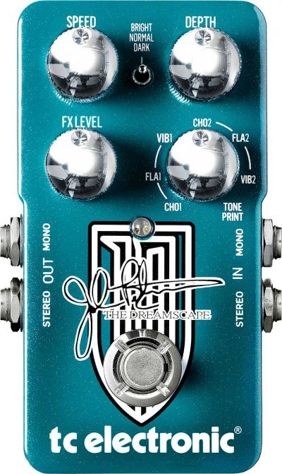 the dreamscape front - TC Electronic Hall of Fame 2 Reverb Pedal