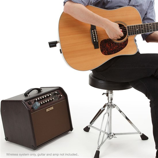 BOS WL20L 2 - Boss WL20 Plug-&-Play Wireless System w/ Built-In Cable Tone Simulation