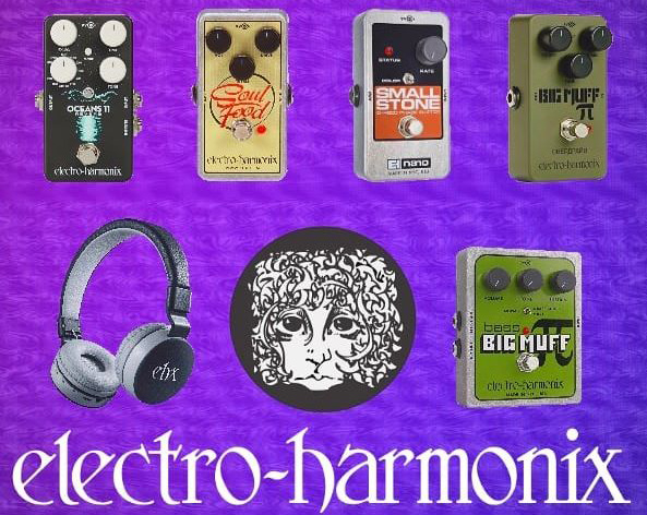 Electro Harmonix Pedals and more!