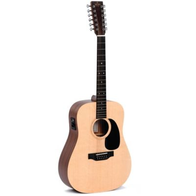 SIG DM12E 400x400 - Sigma DM12E 12-String Solid Top with Pickup