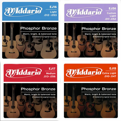 dadd pb - D'Addario Acoustic Phosphor Bronze