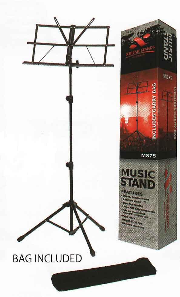 ms75 music stand - Folding Music Stand With Bag – MS75