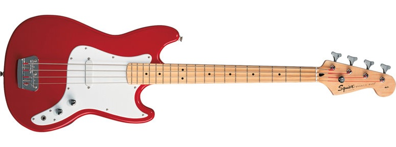 bronco red - Fender Squier Bronco Bass