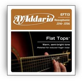 d addario eft13 1 - D'Addario EFT13 Flat Top Strings