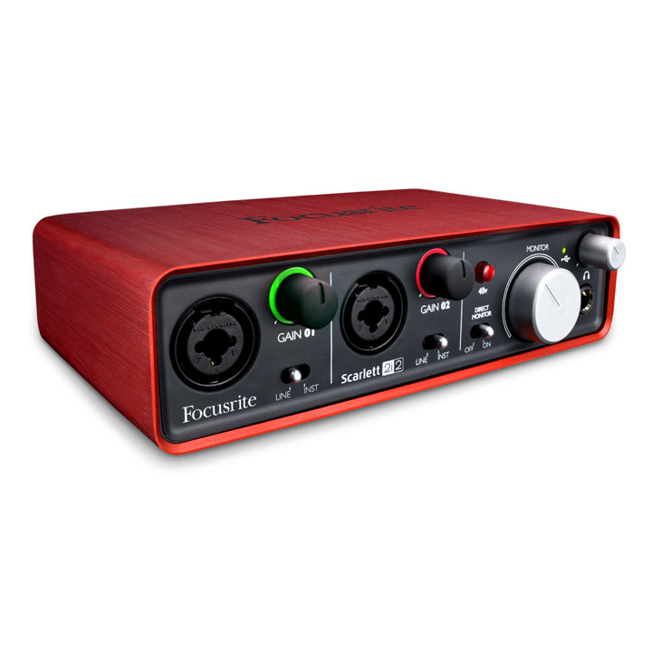 2i2new - Focusrite Scarlett 2i2