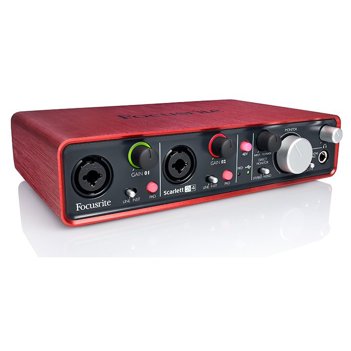 2i4 - Focusrite Scarlett 2i4 2nd Generation Usb Audio Interface