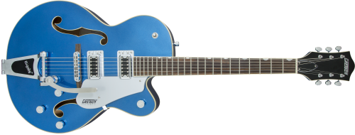 2506011570 gtr frt 001 rr 500x190 - Gretsch G5420t Electromatic Hollowbody Electric Guitar - Fairlane Blue