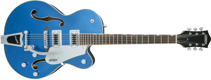 2506011570 gtr frt 001 rr 700x265 - Gretsch G5420t Electromatic Hollowbody Electric Guitar - Fairlane Blue