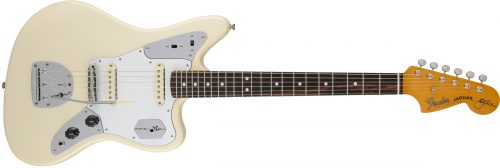 FENDER JOHNNY MARR JAGUAR ROSEWOOD NECK OLYMPIC WHITE 500x168 - Fender Johnny Marr Jaguar – Rosewood Neck / Olympic White In Case