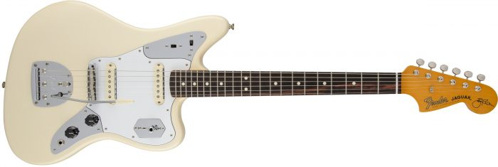 FENDER JOHNNY MARR JAGUAR ROSEWOOD NECK OLYMPIC WHITE 700x235 - Fender Johnny Marr Jaguar – Rosewood Neck / Olympic White In Case