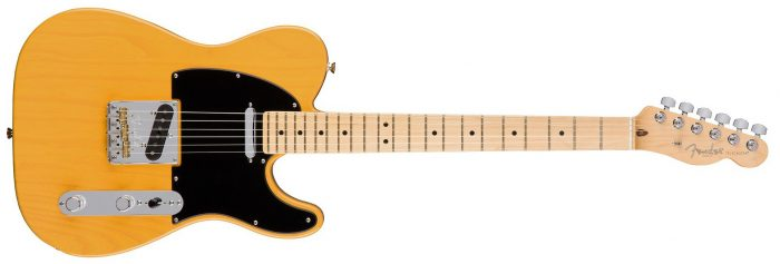 Fender Pofessional Strat Butterscotch 1 700x237 - Fender American Professional Telecaster Electric Guitar - Maple / Butterscotch Blonde With Case