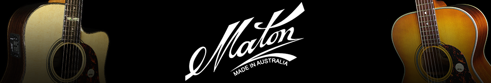 Maton Banner - Maton EM-6 Mini Maton Acoustic/Electric