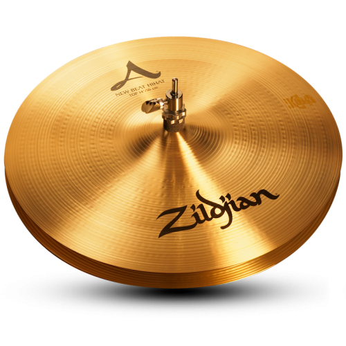 "14 A Zildjian New Beat HiHats 1 500x500 - Zildjian A 14"" new beat Hi hats"