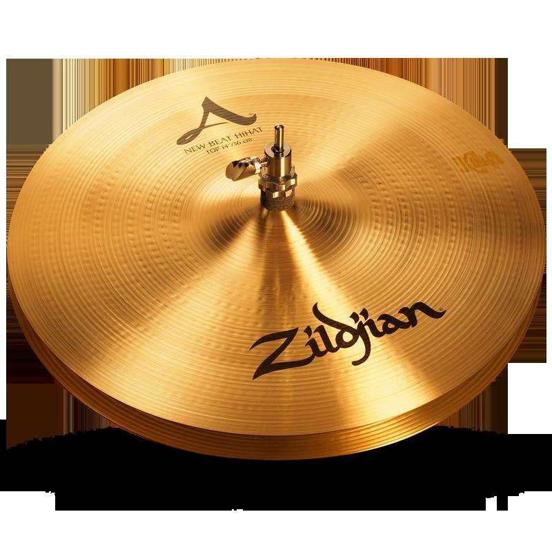 """14 A Zildjian New Beat HiHats 1 - Zildjian A 14"""" new beat Hi hats"""