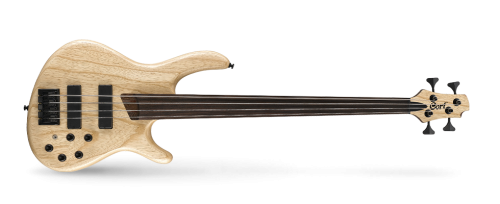 CORT B4FL PLUS ARTISAN BASS 500x204 - Cort B4fl Plus Artisan Bass - Open Pore Natural