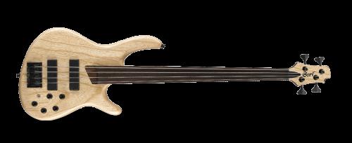 CORT B4FL PLUS ARTISAN BASS 500x204 - Cort B4fl Plus Artisan Bass - Open Pore Natural