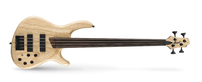 CORT B4FL PLUS ARTISAN BASS 700x286 - Cort B4fl Plus Artisan Bass - Open Pore Natural