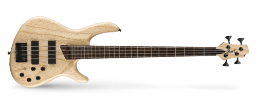 artisan b4 plus 1  500x204 - Cort B4-plus Artisan Bass - Open Pore Natural Swamp Ash