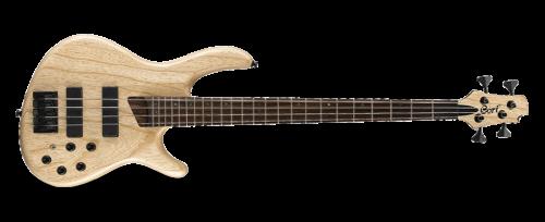 artisan b4 plus 1  500x204 - Cort B4-plus Artisan Bass - Open Pore Natural Swamp Ash