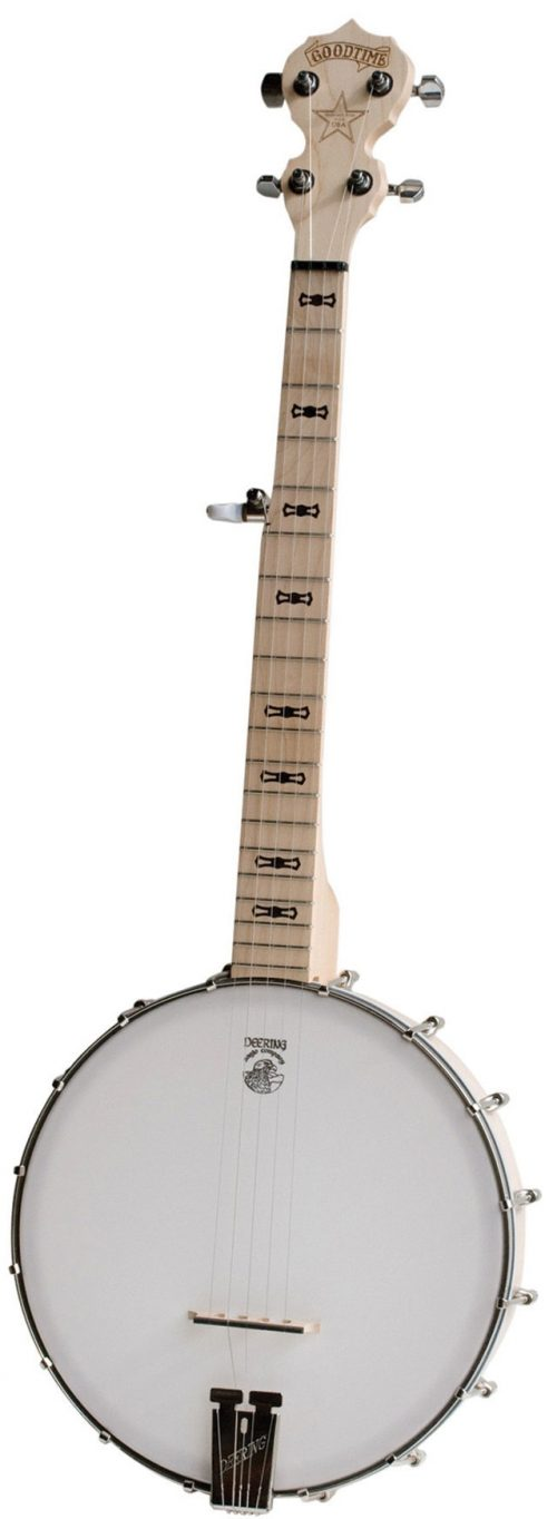 Goodtime Parlor 500x1364 - Deering Goodtime Parlour 5-string Banjo
