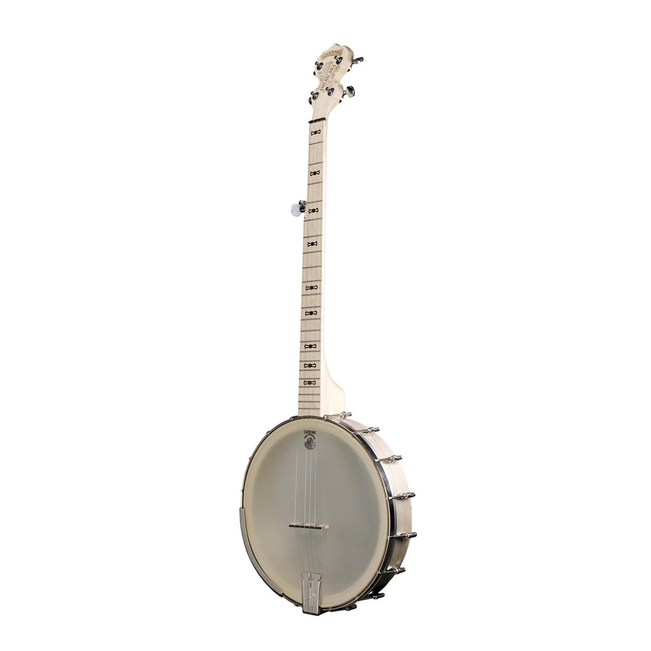 "Goodtime Americana Front  01866.1449795652.1280.1280 - Deering Goodtime Americana 12"" Pot Openback Banjo"