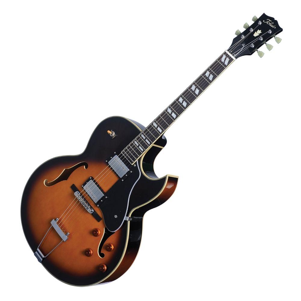 Tokai Traditional Series - Tokai FA-70 'Traditional Series' 175 Style Hollow Body Electric Guitar – Vintage Sunburst