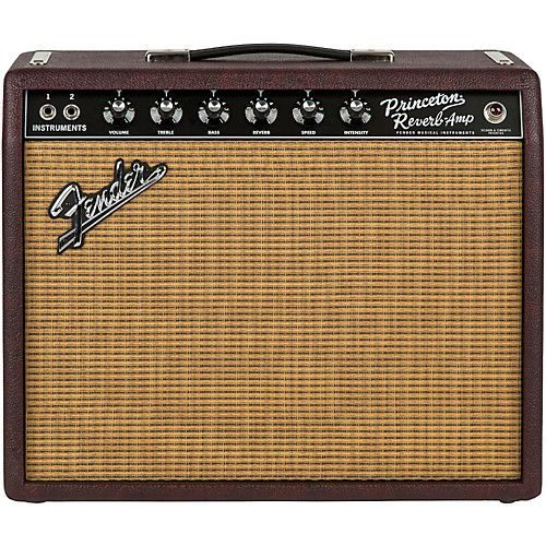 e0722c42a67a54011191c155b96f2825 guitar amp awesome gifts 500x500 - Fender Limited Edition '65 Princeton Reverb 15W 1x12 Tube Guitar Combo Amp Bordeaux Reserve