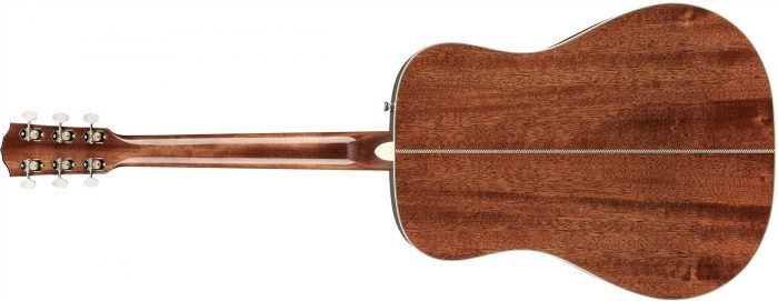 Fender PM 1 gtr back 003 700x271 - Fender PM-1 Limited Adirondack Dreadnought Mahogany