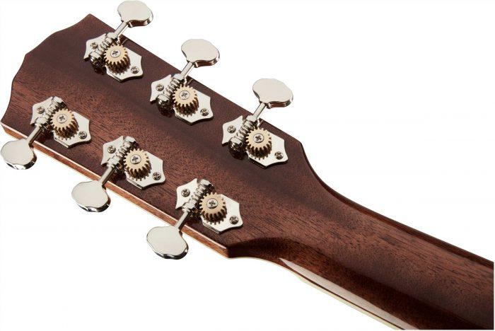 Fender PM 1 gtr hdstckbck 005 700x468 - Fender PM-1 Limited Adirondack Dreadnought Mahogany
