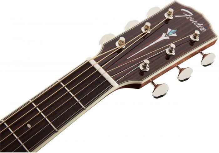 Fender PM 1 gtr hdstckfrt 004 700x491 - Fender PM-1 Limited Adirondack Dreadnought Mahogany