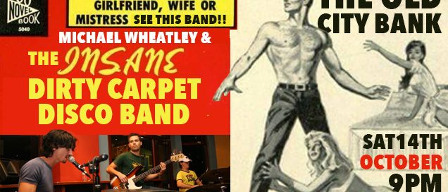 The Dirty Carpet Band Banner 636x272 - Dirty Carpet Disco Band at OCB 14th Oct 2017